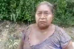 """""""Hay gente enterrada por la lava"""": Mujer que sobrevivió a la erupción del volcán de Fuego"""