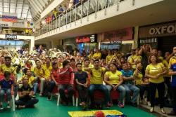 Tristezas y alegrías de los bumangueses en el debut de Colombia en el Mundial