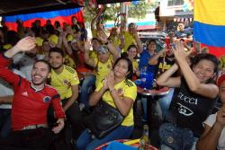 La Selección Colombia devolvió la esperanza a su pueblo por lograr la clasificación a octavos.