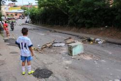 Continúa protesta en Floridablanca por rechazo a tala de árboles y proyecto de vivienda