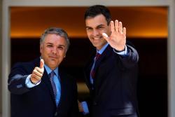 Duque se reunió con el Presidente y el Rey de España
