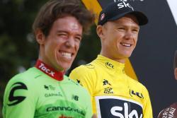 """Froome participará en """"El Giro de Rigo"""" que organiza Urán en Colombia"""