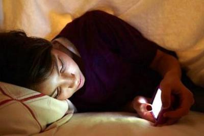 La adicción a las redes sociales provoca trastornos de sueño