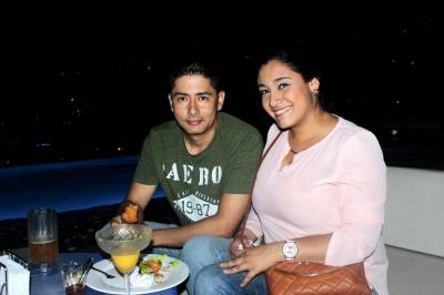 Carlos Ramírez y Andrea Fuentes.