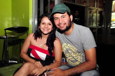 Yaritza Luna y Jhonatan Gómez.