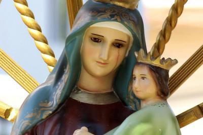 Debate por 'virgen que llora' en Floridablanca