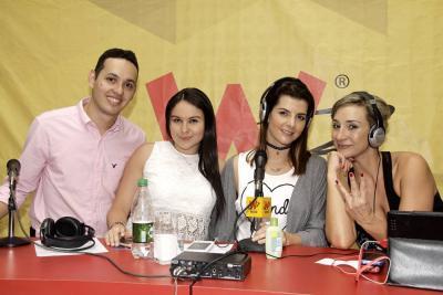 Rafael Acevedo, Alejandra Rodríguez, Carolina Cruz y Margarita Posada.