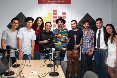 Diego Rodríguez, Edward Grimaldos, Martín Sánchez, Sergio Silva, Esteman, Julián Bernal, Alexánder Rojas, Fabián Ortegón y Lina Rueda.