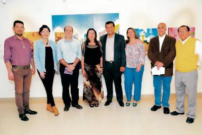 Ciro Caballero, Ana Milena Alvarado, Sergio Ciliberti, Amparo Cabellero Picón, Hugo Santander, Leyla Tobías, Daniel Rueda Serrano e Iván de Dios Ortega.