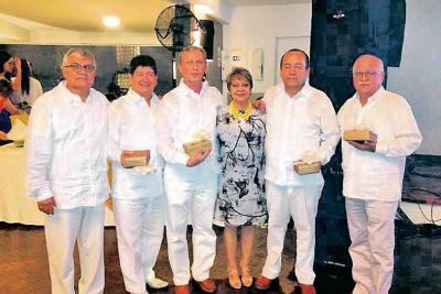 Carlos Aparicio, Francisco Alirio Forero, Aresio Lineros Rodríguez, Gloria Cáceres, Samuel López y Eladio Silva.