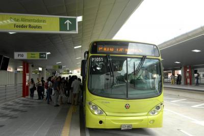 Metrolínea iniciará sus operaciones en el norte de la ciudad con la ruta AN1. La compañía aseguró que próximamente este recorrido estará operando en la zona de Colseguros y el Kennedy.