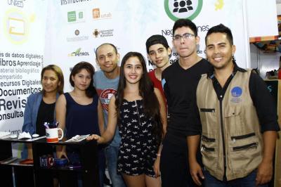 Shadia Gómez, Diana Peñalosa, Julio César León, Vanessa Cáceres, Jorge Jiménez, Camilo Andrés Espinosa y Wilson Andrés Páez.