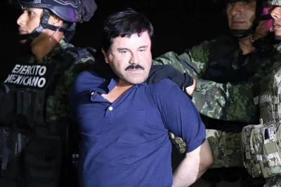 """""""El Chapo"""" espera """"muy tranquilo"""" juicio sobre extradición a EEUU"""