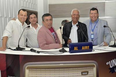 Carlos Alberto Bermúdez, William Rodríguez Díaz, Rubén Darío Arcila, José Antonio Churio y Jair Lagos.
