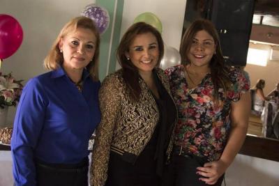 Martha Torres, Nury Andrea Espinosa Murillo y Eliana Toscano.