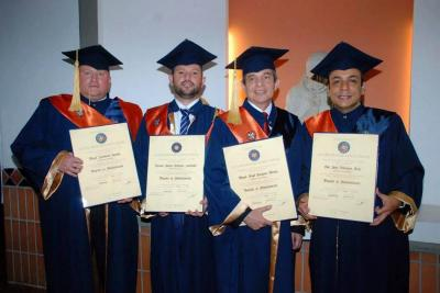 Miguel Sarmiento Sequeda, Ricardo Andrés Cifuentes Santander, Miguel Ángel Tarazona Méndez y Jhon Jairo Velásquez Ariza.