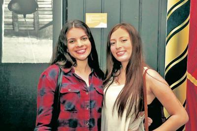 Valeria Quiroga y Diana Chaparro.