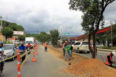 Programe recorridos: cierres parciales en vía a Girón irán hasta julio