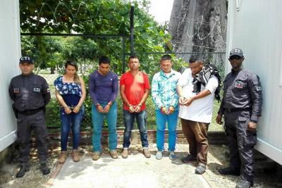 Capturan cinco presuntos integrantes del Eln en Arauca