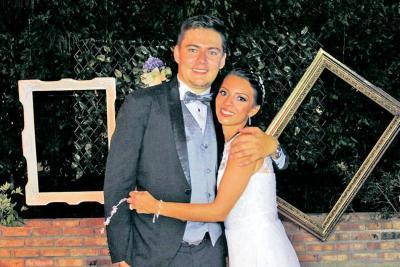 Víctor Pineda y Yulieth Rodríguez.