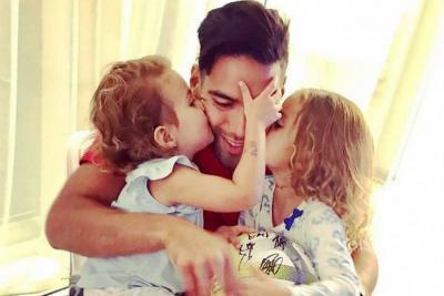Falcao anunció que ya nació su tercera hija