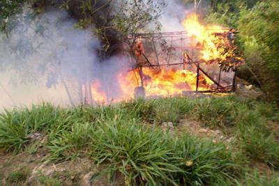 Aseguran que disidencias de las Farc balearon helicóptero del Ejército