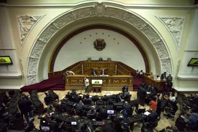 """El Parlamento venezolano, de mayoría opositora, pedirá a organismos internacionales realizar una auditoría """"cualitativa y cuantitativa"""" del proceso electoral."""