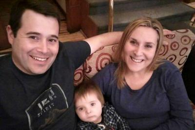 En el mensaje, Jéssica le cuenta a su esposo Fernando Santilli que su hijo ya aprendió a decir papá.