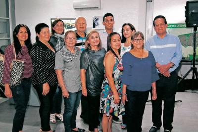 Silvia Ortiz, Elsa Laguado, Nubia Silva, Amparo Arce, Elizabeth Vargas, Georgia Vargas, Andrea Roso, Jorge Santos, Juan Ortiz, Martha López y Luis Quintero.