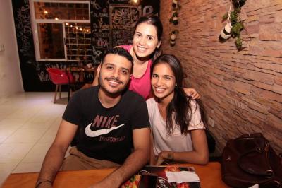 Camilo Vives, Alejandra Gómez y Jéssica Salazar.