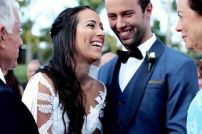 La boda fue este sábado en Medellín