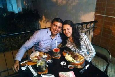 Héctor Darío Suárez Muñoz y Tatiana Carvajal.