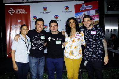 Johana Díaz, Daniel Garnica, Fabián Carrillo, Laura Monroy y Gustavo Pilonieta.