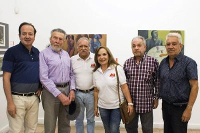 Jaime Ruiz Montes, Augusto Rendón, Orlando Morales, Clemencia Hernández, Hernando Vergara y Carlos Prada Hernández.