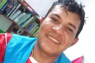 Elkin Fabián Toro, líder comunal del municipio de El Tarra, Norte de Santander.