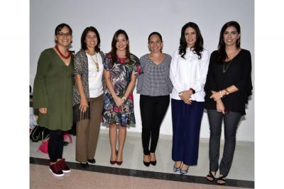 Xiomara Montañez, Elba Viviana Rueda, Laura Valdivieso, Diana Saray Giraldo, María Margarita Rivera y María Juliana Acebedo.