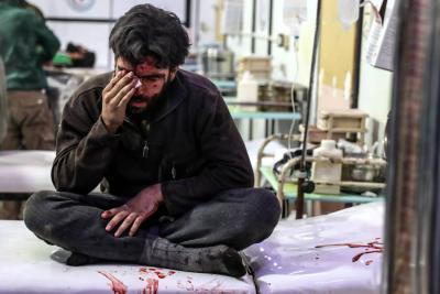 Al menos 50 muertos por ataques aéreos y de artillería en Siria