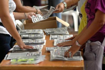 La Registraduría prohíbe los plumones para marcar tarjetón de las elecciones