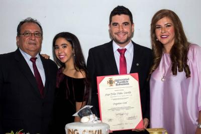 Álvaro Alonso Pabón Rodríguez, Alejandra María Pabón Carrillo, Diego Felipe Pabón Carrillo y Emma Mercedes Carrillo Buitrago.
