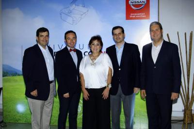Ricardo Toro, Juan Carlos López, Diva Vargas, Carlos Felipe Caicedo y Abel Manotas.