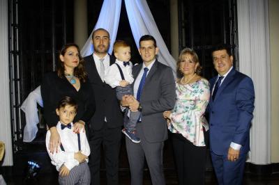 Mathías Beltrán Pinilla, Rocío Pinilla Rojas, Fredy Beltrán, Gerónimo Beltrán, Andrés Felipe Pinilla, Irma Delia Rojas y Rodolfo Pinilla Márquez.