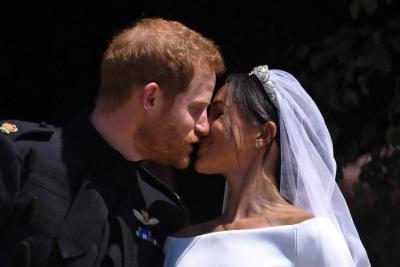 """El príncipe Enrique de Inglaterra y Meghan Markle se dieron el """"Sí, quiero"""""""