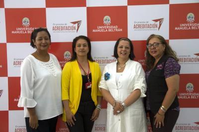 Liliana Castro, Yéssica Sánchez, Johana Balaguera y Libia Herrera.