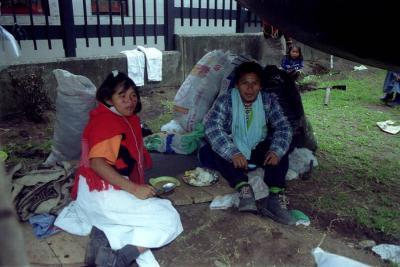 Estas comunidades habitan en cercanía de los ríos Chori y Pangue.