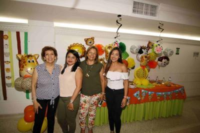 Toña Barón, Mónica Rojas, Martha Mayorga y Diana Abril.