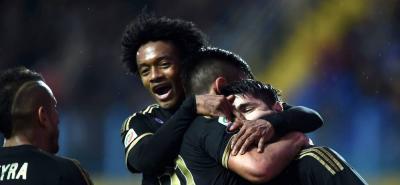 Cuadrado anotó y Juventus amplía su racha, esta vez 2-0 sobre Frosinone