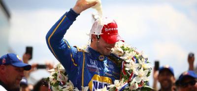 Alexander Rossi fue el vencedor de las 500 Millas de Indianápolis