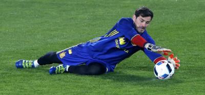 Iker Casillas por fuera de la Selección de España