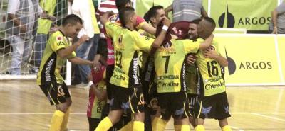 Real Bucaramanga se coronó campeón de la Liga Argos Fútsal