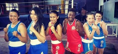 Ellas son las integrantes de la selección femenina de boxeo que disputará desde hoy el Nacional en Bucaramanga.